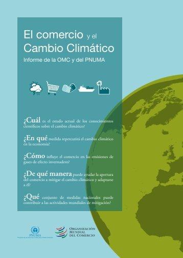 El comercio y el Cambio Climático - UNEP