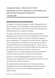 Lesen Sie den Vortrag von Frau Petra Nix - Kirchhoff Consult AG