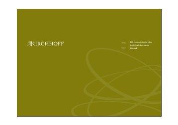 PDF herunterladen - Kirchhoff Consult AG
