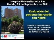 Evaluación del paciente ingresado con fiebre - Servicio Medicina ...