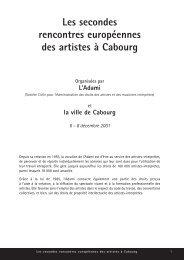 Les secondes rencontres européennes des artistes à Cabourg - Irma
