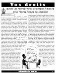 Fouineur libre #33 – novembre 2009 - Comités Logement ... - Page 7