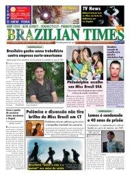 Polêmica e discussão não tira brilho do Miss Brasil ... - Brazilian Times
