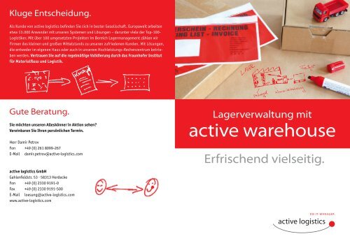 active warehouse - Active logistics