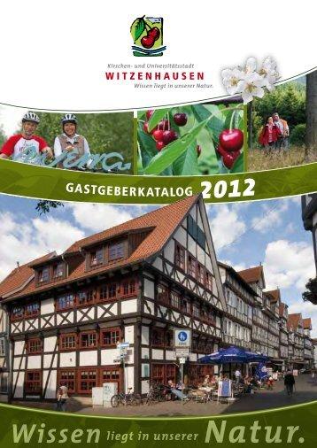 Kirschenerlebnispfad - Tourist-Info Witzenhausen
