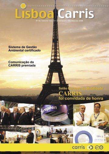 Revista Lisboa Carris Nº 56, Série III, Ano 13, 2º Trimestre - abril ...