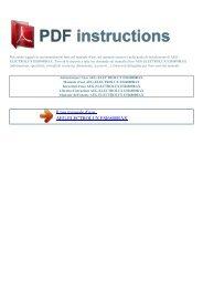 ESI6800RAX - ISTRUZIONI PDF