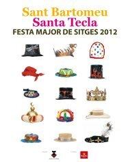 Programa oficial de Festa Major i Santa Tecla (pdf/8MB)