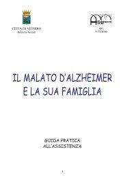 IL MALATO D'ALZHEIMER E LA SUA FAMIGLIA - Donne & Donne
