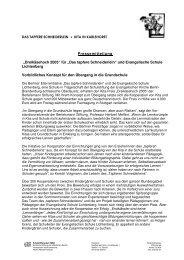 """Pressemitteilung """"Dreikäsehoch 2005"""" - im tapferen Schneiderlein"""