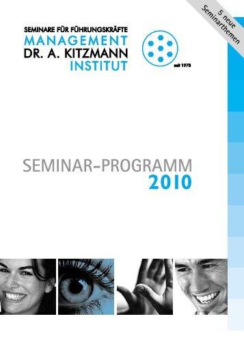 NEU - Management-Institut Dr. A. Kitzmann