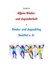 Offene Kinder- und Jugendarbeit - Kinder- und Jugendring Swisttal ...