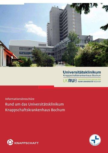 Patientenbroschüre - Knappschaftskrankenhaus Bochum