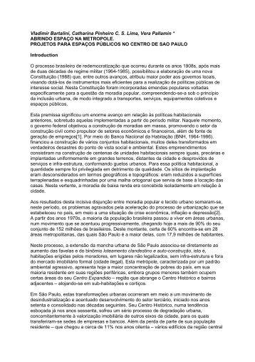 Vladimir Bartalini, Catharina Pinheiro C - USP