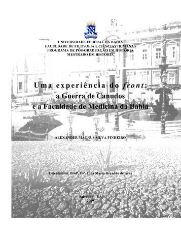 Uma experiência do front: - Programa de Pós-Graduação em ...