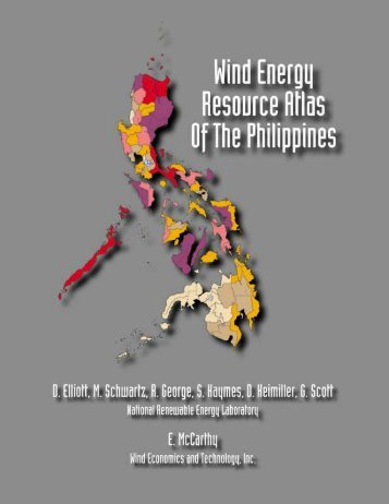 Wind Energy Resource Atlas of the Philippines - NREL