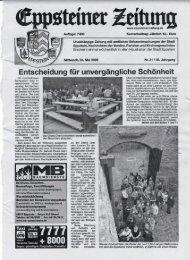 Eppsteiner Zeitung