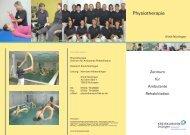 Physiotherapie Nürtingen (Flyer/PDF) - Kreiskliniken Esslingen