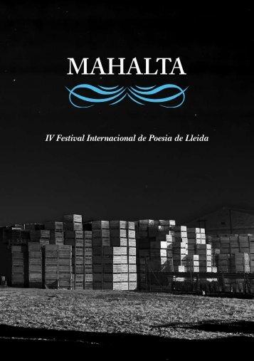 Llibret del IV Mahalta - Ajuntament de Lleida