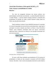 Jornal Valor Econômico, 20 de agosto de 2012, p. C1 ... - Acminas