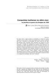 Conquistas lusitanas no além-mar - Revista de História
