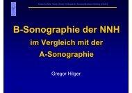 B-Sonographie der NNH - Kreiskrankenhaus Stollberg gGmbH