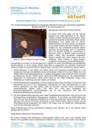 Zum vollständigen Bericht - KKV Hansa München