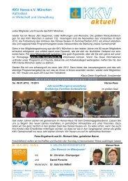 Monatsprogramm 2012-01 mitKopf Internet - KKV Hansa München