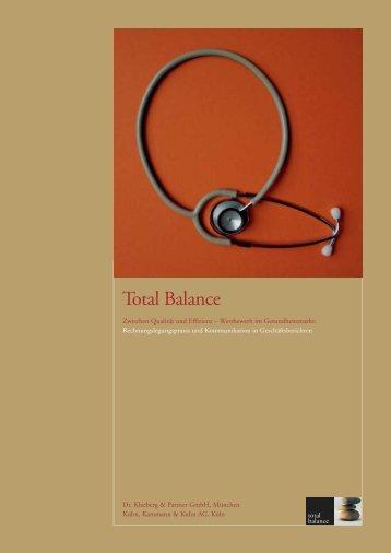 Total Balance - Kuhn, Kammann & Kuhn