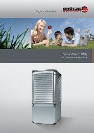 Prospekt SensoTherm BLW - Klaus Weber GmbH