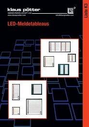 LED-Meldetableaus