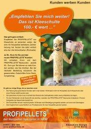 PROFIPELLETS - Kleeschulte GmbH & Co. KG