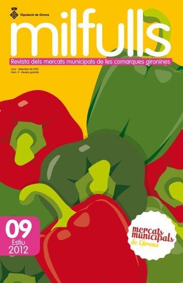 Novè exemplar revista Milfulls - Diputació de Girona