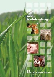 AdHoc Marktforschung - Kleffmann