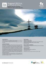Puigmal 2913 m. (per la Coma de l'Embut) - El Ripollès