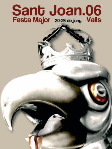 Programa Sant Joan.indd - Ajuntament de Valls
