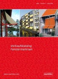 So lässt sich die markilux 730 anbringen - Kleier Jalousien GmbH