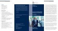 Corporate Social Responsibility – Reichweiten ... - Dr. Kleinfeld CEC