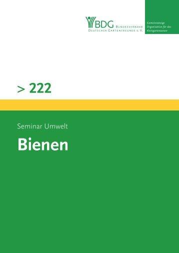 222 - Bundesverband Deutscher Gartenfreunde e.V.