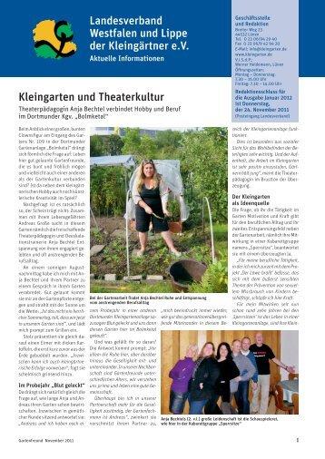 Landesverband Braunschweig Gartenfreunde e.V. Kleingarten und ...