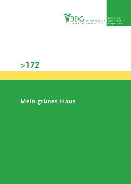 172 - Bundesverband Deutscher Gartenfreunde e.V.