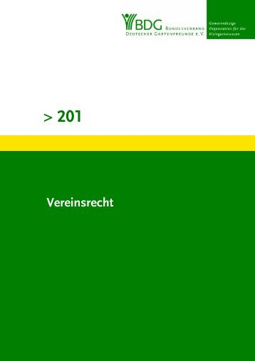 201 - Bezirksverband der Gartenfreunde Pankow