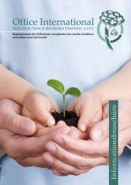 Office International - Bundesverband Deutscher Gartenfreunde e. V.