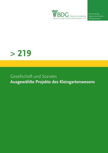 219 - Bundesverband Deutscher Gartenfreunde e.V.