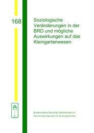 168 - Bundesverband Deutscher Gartenfreunde e. V.