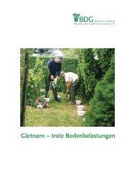 Gärtnern – trotz Bodenbelastungen - Bundesverband Deutscher ...