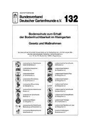 132 - Bundesverband Deutscher Gartenfreunde e.V.