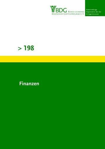 Grüne Schriftenreihe 198 - Bezirksverband der Gartenfreunde Pankow