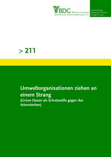 211 - Bundesverband Deutscher Gartenfreunde e. V.