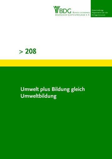 Grüne Schriftenreihe Nr. 208 - Bundesverband Deutscher ...